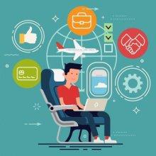 Авиаперевозки продаются через агента: кто должен применять ККТ