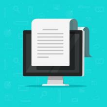 В Госдуму поступил закон о конвертации электронных документов