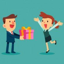 Как в бухучете отразить подарок контрагенту суммой более 40 тысяч
