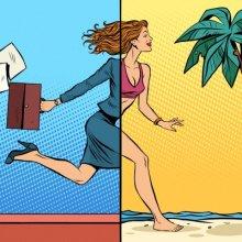 Сдвигает отпуск без сохранения заработной платы