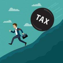 Счета по уплате налогов и взносов с мая 2021