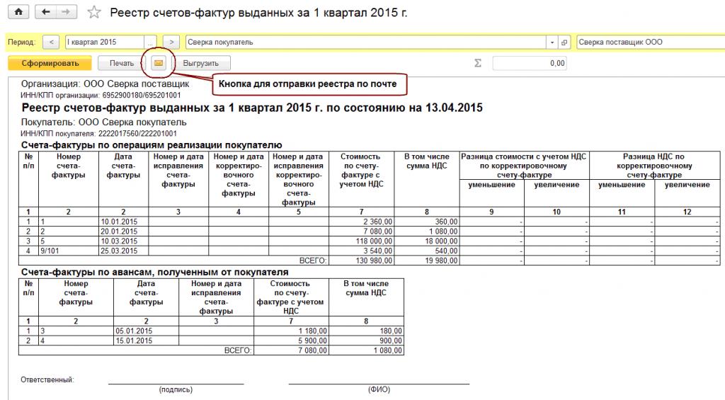 реестр на оплату счетов образец - фото 9