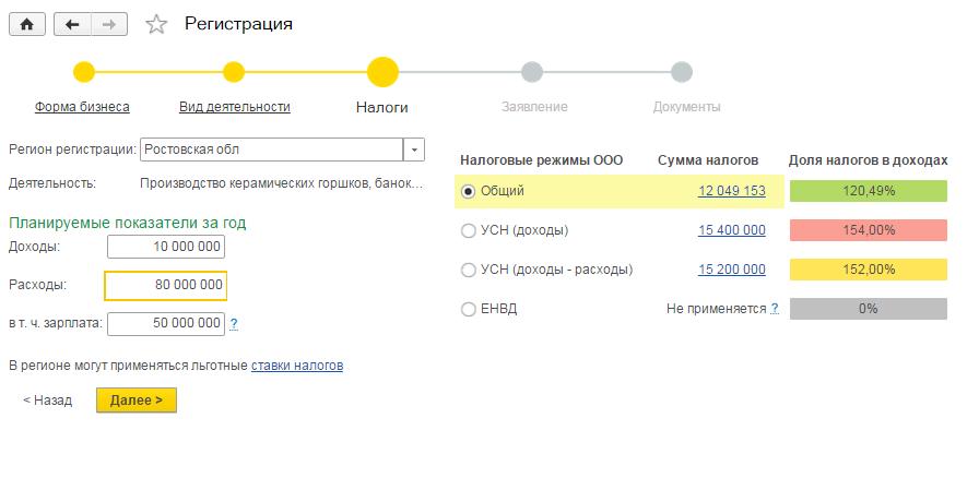 Регистрация ооо онлайн 1с заверение подписи при регистрации ооо